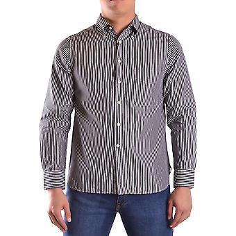 Gant Ezbc144062 Uomo's Camicia di cotone bianco/grigio