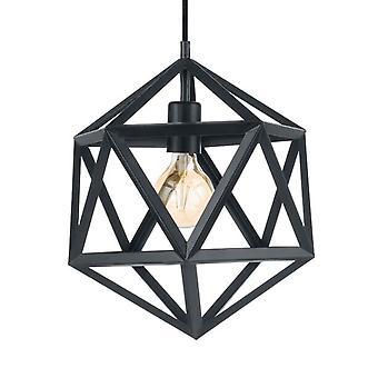 Eglo Embleton noir Pendentif géométrique