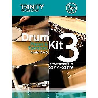 Drum Kit 2014-2019 Book 3 Grades 5 & 6 - 9780857363152 Book