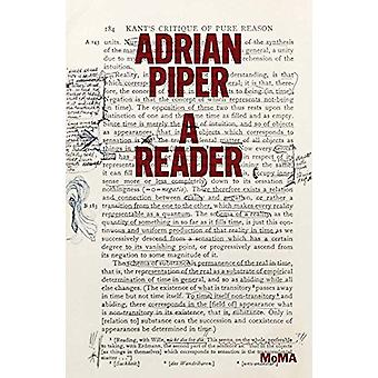 Adrian Piper - A Reader by Connie Butler - 9781633450332 Book