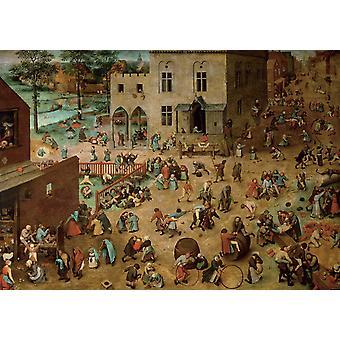 Piatnik Bruegel Çocuk's Oyunları Yapboz (1000 Adet)