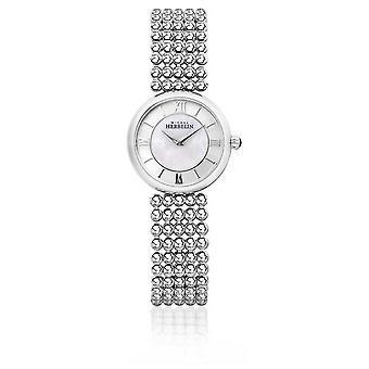 Michel Herbelin | Womens Perle | Silver Bracelet | Mother Of Pearl Dial | 17483/B19 Watch
