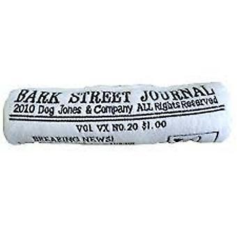 Bark Street Journal Plush Dog Toy