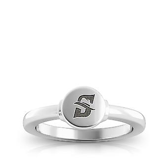Stetson University Ring In Sterling Silver Design by BIXLER