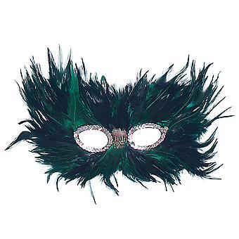 Bristol Novelty Unisex Adults Feather Eye Mask
