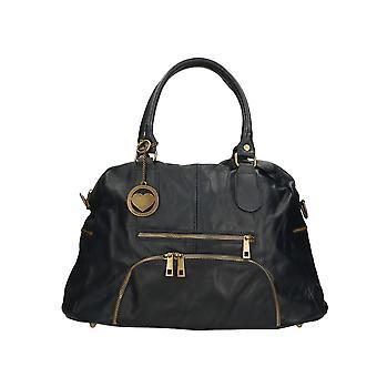 Handväska i läder P6174