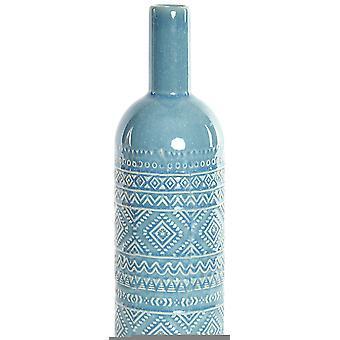 Wellindal Stoneware vase 13x41,5 azure (Decoration , Jars)