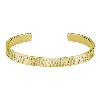 Liebeskind Berlin ? Women's stainless steel bracelet - color: gold