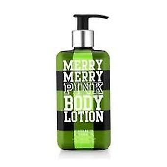 Victoria's Secret Merry Merry Pink Body Lotion 13.5 oz / 400 ml (2 Pack)
