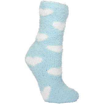 Trespass Womens/Ladies Snuggie Fluffy Casual Tube Socks Two Pair Pack