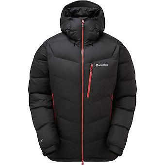 Montane Resolute Down Jacket - Narwhal Blue/Inca Gold