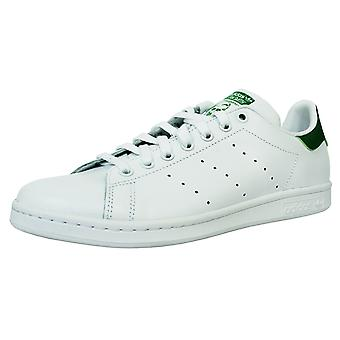 Adidas stan smith men's white and green trainers