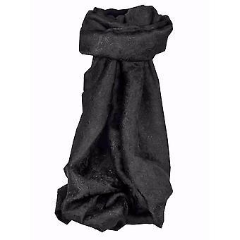 Vietnamin silkki huivi käännettävä Hoi-ha-pitkä musta, jonka Pashmina & silkki
