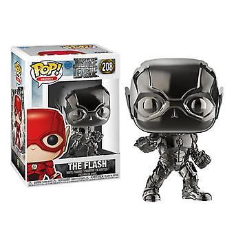 Justice League Movie Flash Chrome Pop! Vinyl
