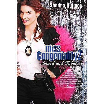 ملكة جمال Congeniality 2 (مزدوجة الجانب الدولي) (2005) ملصق السينما الأصلية