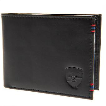 Arsenal FC Mens Leather Stitched Wallet