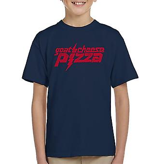 Zits Red Goats Cheese Pizza Kid's T-Shirt