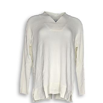 Linea por Louis Dell'Olio Women's Sweater V-Neck Sweater Ivory A347438