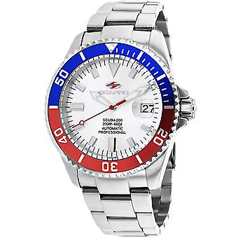 Seapro Men's Scuba 200 Silver Dial Watch - SP4320