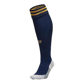 2020-2021 Spain Home Adidas Football Socks (Navy)