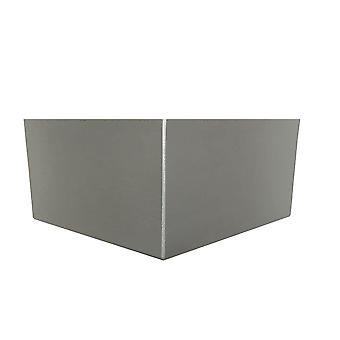 Picior colț din lemn argintiu 10 cm