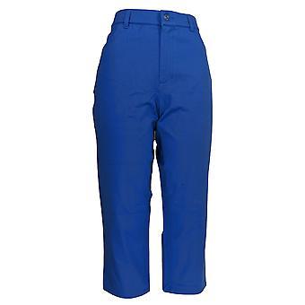Isaac Mizrahi Live! Kvinner ' s bukser 24/7 strekk 5-Pocket blå A263955