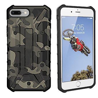 iPhone SE 2020 - 8 - 7 - 6 tilfelle gjennomsiktig grønn - Støtsikker hær