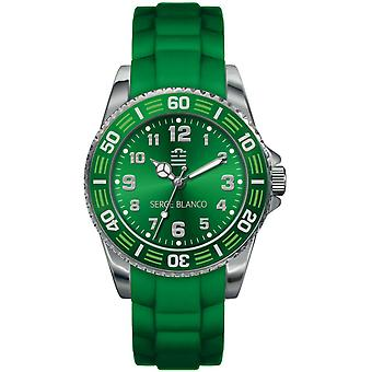 Shows Serge Blanco SB4023-29 - shows green round