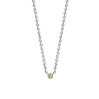 Ti Sento 3906ZY - silver oxide Dor collar necklace