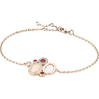 Zeades Sbc01058 armband - armband Rose guld kristaller kvinna