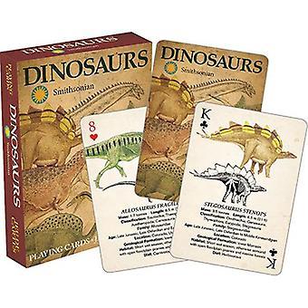 سميثسونيان - الديناصورات لعب الورق