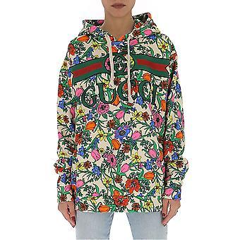 Gucci 610156xjcci9487 Women's Multicolor Cotton Outerwear Jacket