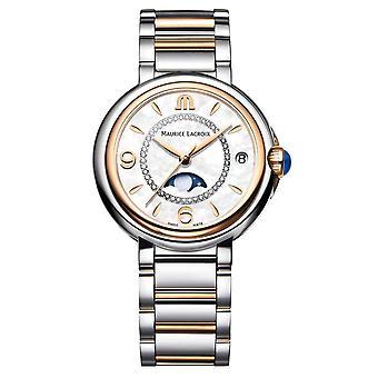 Maurice Lacroix FA1084-PVP13-150-1 Women's Fiaba Moonphase Diamond Wristwatch