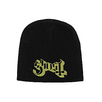Ghost Beanie Hat cap band Logo opus eponymous new Official Black