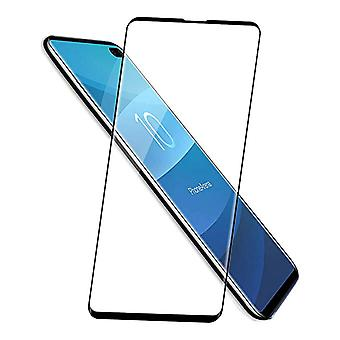 Samsung Galaxy S10 Sort - Buet (3D) Hærdet skærmbeskytter