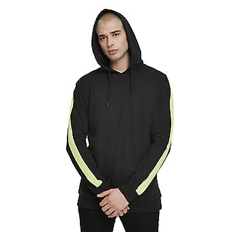 Urban Classics Men's Hoodie Neon Striped