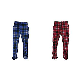 Harvey James Mens Fleece Loungewear Trouser