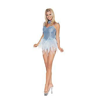Kobiety Sexy Blue Fairy Costume