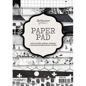 Studio Light Paper Pad A5 36 sheets 12 designs nr 109 PPSL109