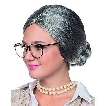 Bunica peruca bunica gri Dutt profesor strict OMI