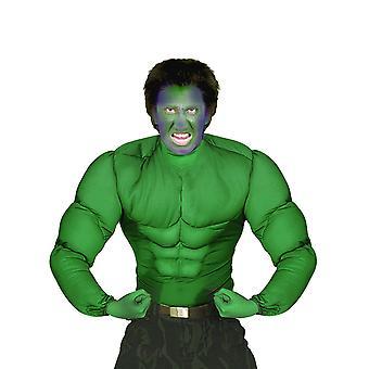 Volwassen groene spier shirt