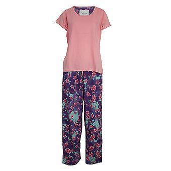 chic-a-mo kvinners / damer floral pyjamas sett