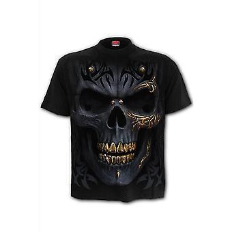 Spiral Direct Black Gold T-Shirt