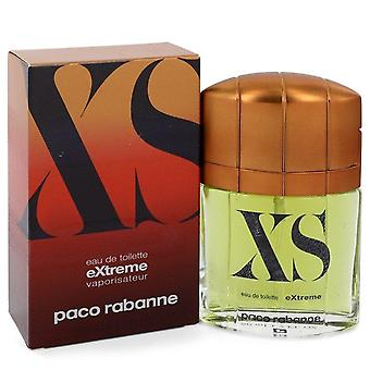 Xs extreme eau de toilette spray door paco rabanne 400238 50 ml