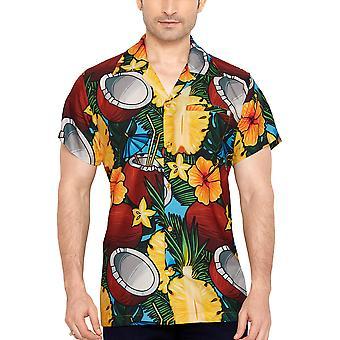 Club cubana miesten & #039;s säännöllinen sovi klassinen lyhythihainen rento paita ccd31