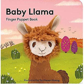 Baby Llama - Finger Puppet Book by Chronicle Books - 9781452170817 Book