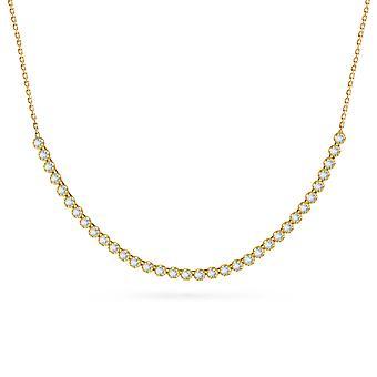 Kaulakoru Gala 18K kultaa ja timantteja