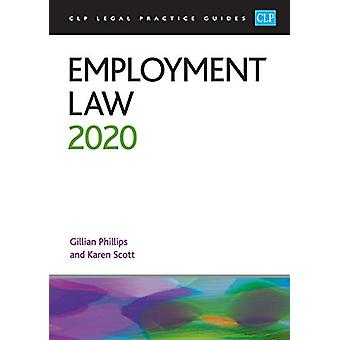 Employment Law 2020 by Gillian Phillips - 9781913226282 Book