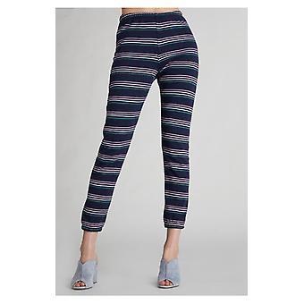 Wildfox cheri stripes knox jogger pants