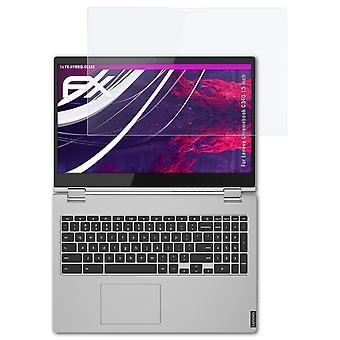atFoliX Verre film protecteur compatible avec Lenovo Chromebook C340 15 inch 9H Hybride-Verre